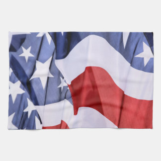 American Flag Kitchen Towel