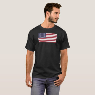 American Flag large size USA T-Shirt
