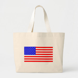 AMERICAN FLAG LARGE TOTE BAG