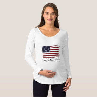 'American Flag' Long Sleeve Shirt