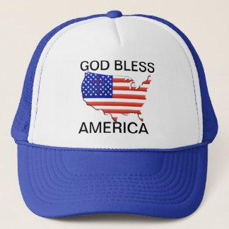 AMERICAN FLAG/MAP HAT