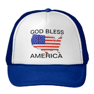 AMERICAN FLAG/MAP HAT