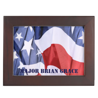 American Flag Memory Boxes
