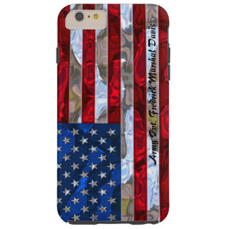 American Flag Monogram  6/6s Plus Tough iPhone 6 Plus Case