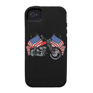 American Flag Motorcycle Eagle iPhone4 Case Case-Mate iPhone 4 Cases