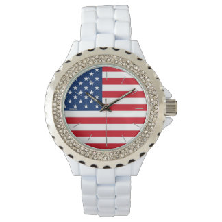 American Flag Nice Watch