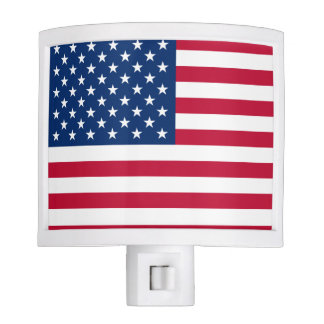American Flag Night Lights