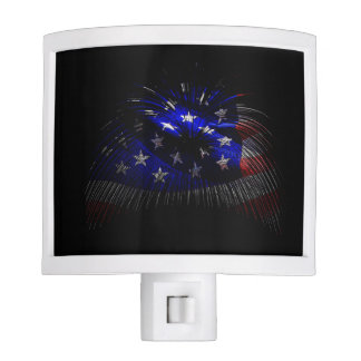 American Flag Nite Lights