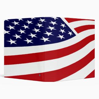 AMERICAN FLAG NOTEBOOK BINDER