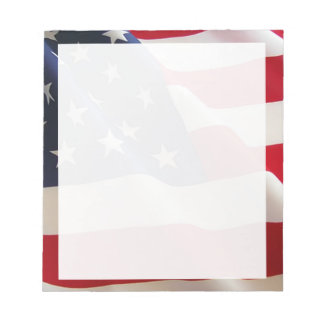 American Flag Notepads