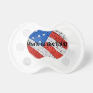 American Flag on Brick BooginHead® Custom Pacifier