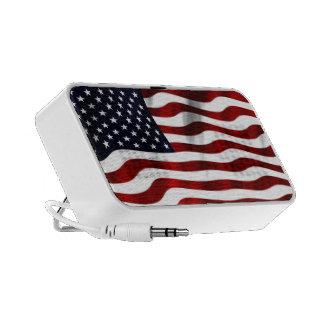 American Flag on Doodle by OrigAudio™ Mini Speaker