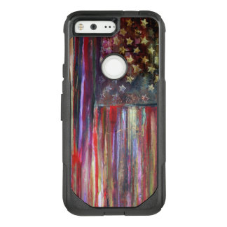 American Flag Original Artwork OtterBox Commuter Google Pixel Case