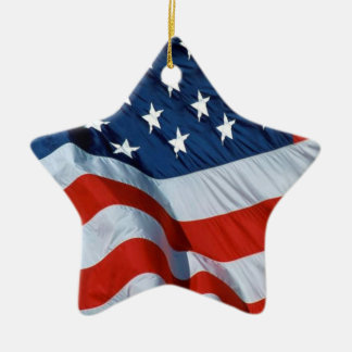 American flag ornament 2