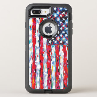 American Flag OtterBox Defender iPhone 7 Plus Case