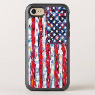 American Flag OtterBox Symmetry iPhone 7 Case