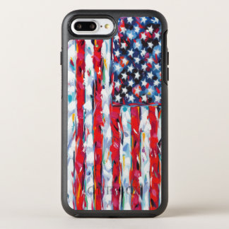 American Flag OtterBox Symmetry iPhone 7 Plus Case