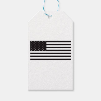 american flag pack of gift tags