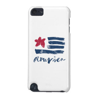 American Flag Paintstrokes iPod Touch 5G Cover