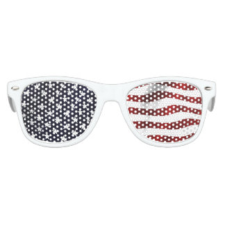 American Flag Party Sunglasses