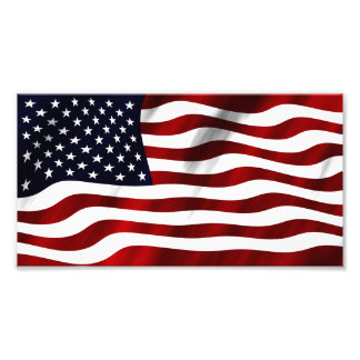 American Flag Patriotic Independence Day Photo