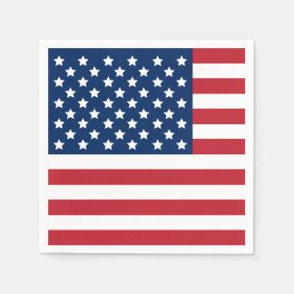 American Flag | Patriotic Paper Napkins