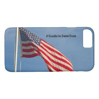 American Flag Patriotic Personalize iPhone 8/7 Case