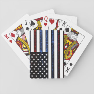 American Flag Patriotic Red White Blue Cards