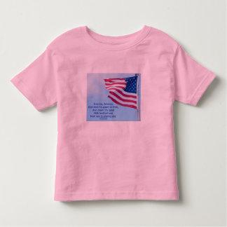 American Flag Patriotic T-Shirt Kid