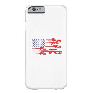 American Flag Patriotic Usa Pride Gun A Pro Gun Barely There iPhone 6 Case