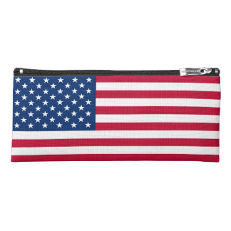 American Flag Pencil Bag