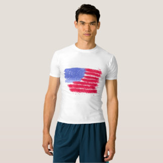 American Flag Performance Compression Shirt