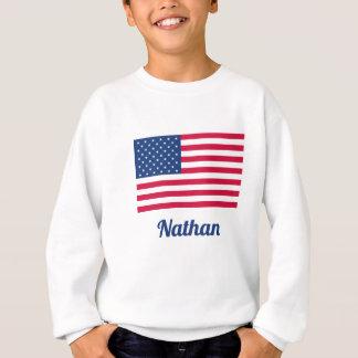 American Flag | Personalized Sweatshirt