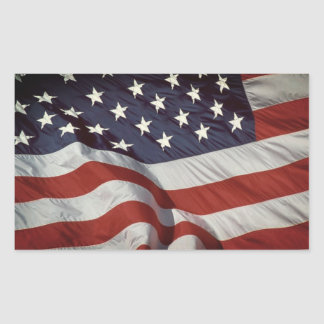 American Flag photo stickers