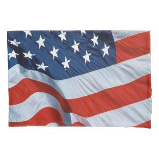 American Flag Pillowcase