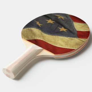 American Flag Ping Pong Paddle