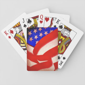 American Flag Playing Cards, Standard Index faces. Playing Cards