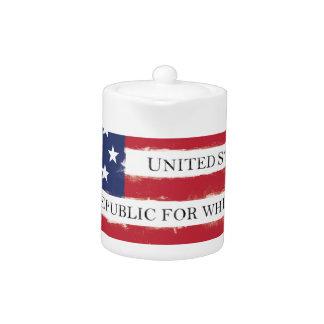 American flag Pledge Vintage