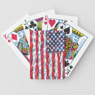 American Flag Poker Deck