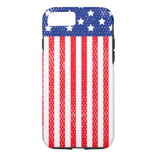 American Flag Red and Blue iPhone 8/7 Case