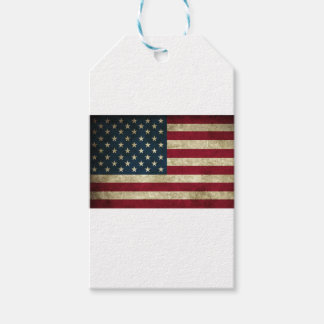 American Flag Red White And Blue Flag Gift Tags