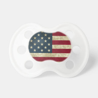 American Flag Red White And Blue Flag Pacifier