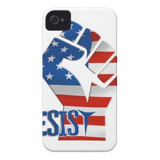 American Flag Resist Raised Fist iPhone 4 Case