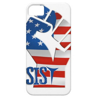 American Flag Resist Raised Fist iPhone 5 Case