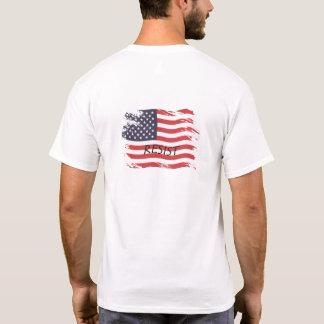 American Flag Resist T Shirt