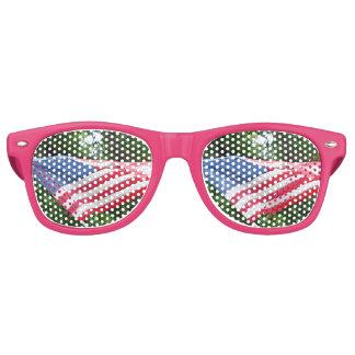 American Flag Retro Sunglasses