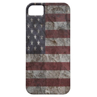 American Flag rock Wall iPhone 5/5S Case