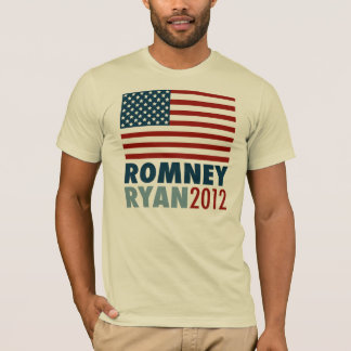 American Flag Romney-Ryan 2012 T-Shirt