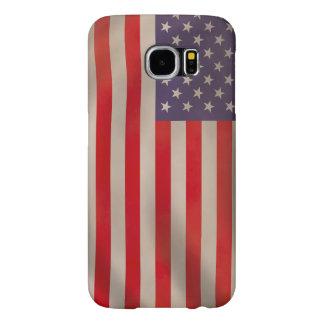 American Flag Samsung Galaxy S6 Cases