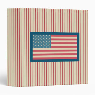 American Flag Scrapbook Binder